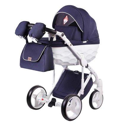 Дитяча коляска 2 в 1 Adamex Chantal С204 синя