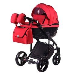 Дитяча коляска 2 в 1 Adamex Chantal С206 червона
