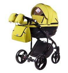 Дитяча коляска 2 в 1 Adamex Chantal С208 лимонна