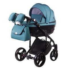 Дитяча коляска 2 в 1 Adamex Chantal С209 бірюзова