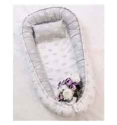 Кокон-гніздо Добрий Сон Baby Line 52х85см Корони