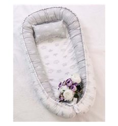 Кокон-гніздо Добрий Сон Baby Line 70х110см Корони
