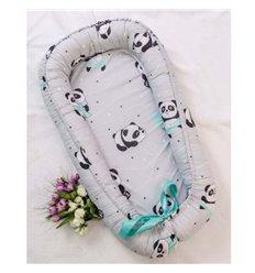 Кокон-гніздо Добрий Сон Baby Line 70х110см Панда
