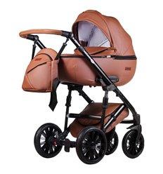 Дитяча коляска 2 в 1 Everflo Bliss E-8 коричнева еко шкіра