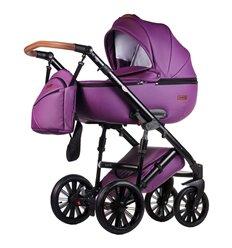 Дитяча коляска 2 в 1 Everflo Bliss E-41 фіолетова еко шкіра