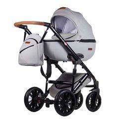 Дитяча коляска 2 в 1 Everflo Bliss E-45 світло сіра еко шкіра