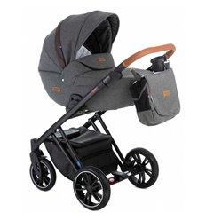 Дитяча коляска 2 в 1 Broco Up 02 темно сіра