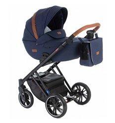 Дитяча коляска 2 в 1 Broco Up 03 синя