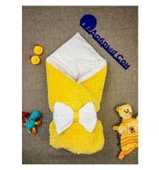 Конверт-плед Добрий Сон Minki 80х100см жовтий