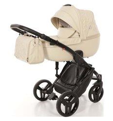 Дитяча коляска 2 в 1 Tako Junama Enzo 02 еко-шкіра бежева