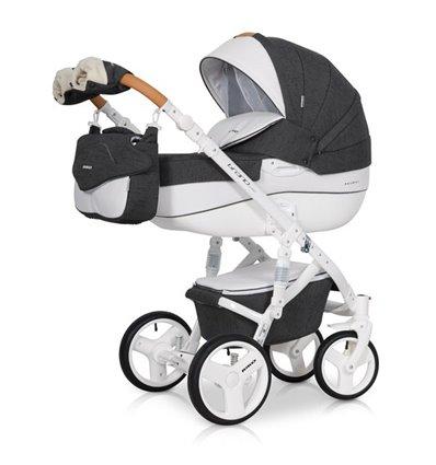 Дитяча коляска 2 в 1 Riko Brano Luxe Anthracite