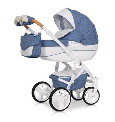 Дитяча коляска 2 в 1 Riko Brano Luxe Denim