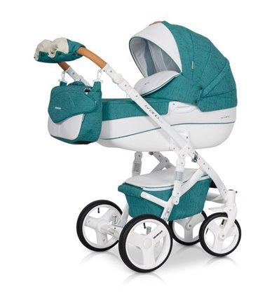 Дитяча коляска 2 в 1 Riko Brano Luxe Malachit