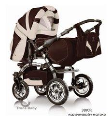 Дитяча коляска трансформер Trans Baby Prado Lux 38/CR
