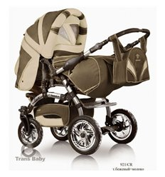 Дитяча коляска трансформер Trans Baby Prado Lux 921/CR