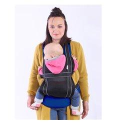 Ергономічний рюкзак-переноска Ontario Free Air 3D Синій 291