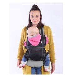 Ергономічний рюкзак-переноска Ontario Free Air 3D Сірий 292