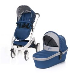 Дитяча універсальна коляска 2 в 1 4Baby Cosmo Navy Blue