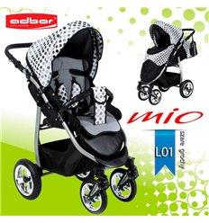 Дитяча прогулянкова коляска Adbor Mio L01