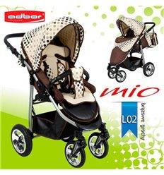Дитяча прогулянкова коляска Adbor Mio L02