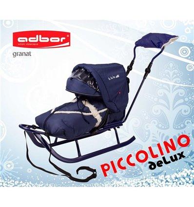 Санки Adbor Piccolino Delux голубі
