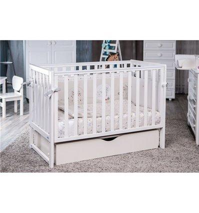 Дитяче ліжечко Twins Pinocchio білий