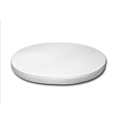 Матрац IngVart для ліжечок Baggybed Oval Кокос+латекс, 60x71 см 6017