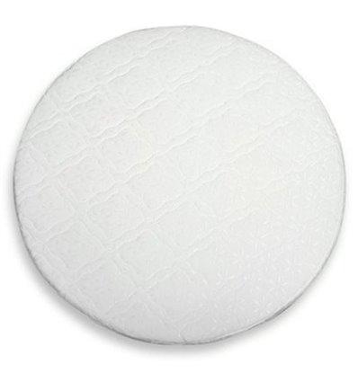 Матрац IngVart для ліжечок Baggybed Round Кокос+латекс, 72x72 см 7217