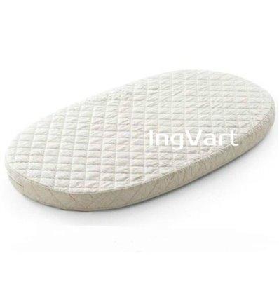 Матрац IngVart для ліжечок Baggybed Round Кокос+латекс, 72x120 см 7227