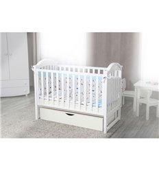 Дитяче ліжечко Twins iLove білий