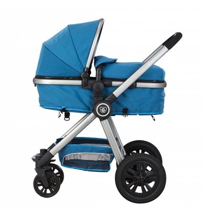 Дитяча коляска трансформер Gmini Grand Petrol Grey