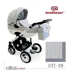 Дитяча коляска 3 в 1 Adbor Ottis 15
