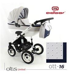Дитяча коляска 3 в 1 Adbor Ottis 16