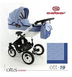Дитяча коляска 3 в 1 Adbor Ottis 19