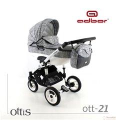 Дитяча коляска 3 в 1 Adbor Ottis 21