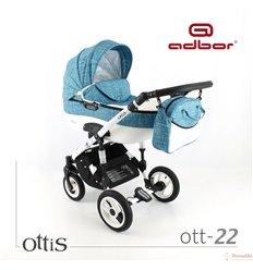 Дитяча коляска 3 в 1 Adbor Ottis 22