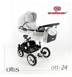 Дитяча коляска 3 в 1 Adbor Ottis 24