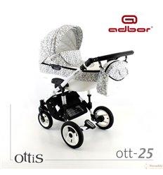 Дитяча коляска 3 в 1 Adbor Ottis 25