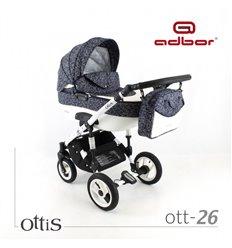 Дитяча коляска 3 в 1 Adbor Ottis 26