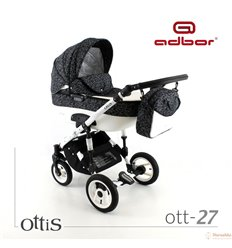 Дитяча коляска 3 в 1 Adbor Ottis 27