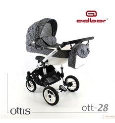 Дитяча коляска 3 в 1 Adbor Ottis 28
