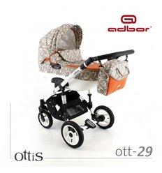 Дитяча коляска 3 в 1 Adbor Ottis 29