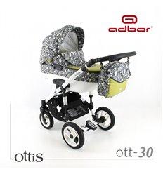 Дитяча коляска 3 в 1 Adbor Ottis 30