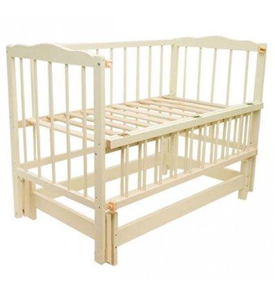 Дитяче ліжко Колисковий Світ Малятко без шухляди Слонова кістка
