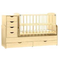 Дитяче ліжко-трансформер Колисковий світ Натуральний