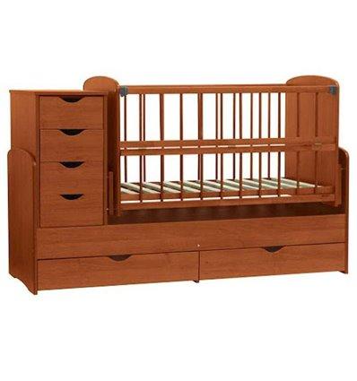 Дитяче ліжко-трансформер Колисковий світ Яблуня