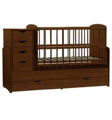 Дитяче ліжко-трансформер Колисковий світ Горіх