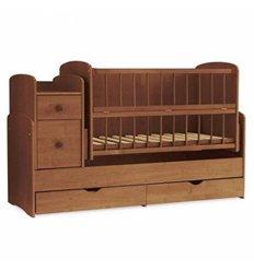 Дитяче ліжко-трансформер 2 Колисковий світ Горіх лісовий