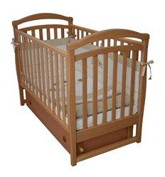 Дитяче ліжечко Верес ЛД6 з маятником і шухлядою бук