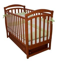 Дитяче ліжечко Верес ЛД6 з маятником і шухлядою вільха